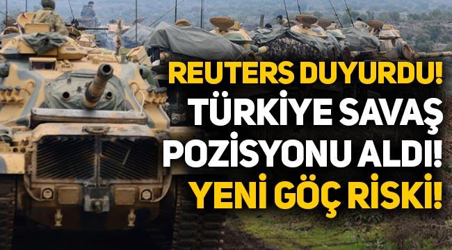 Yeni göç riski: Türkiye, Suriye'de 'savaş pozisyonu aldı' iddiası!