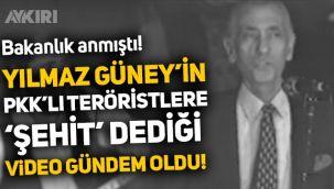Yılmaz Güney'in PKK'lı teröristlere 'şehit', Türk topraklarına 'kürdistan' dediği görüntüler gündem oldu!