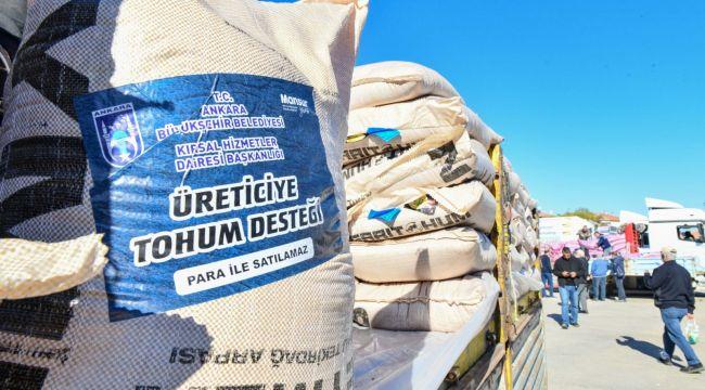 ABB'den çiftçilere Türkiye'nin en büyük arpa ve buğday tohumu desteği