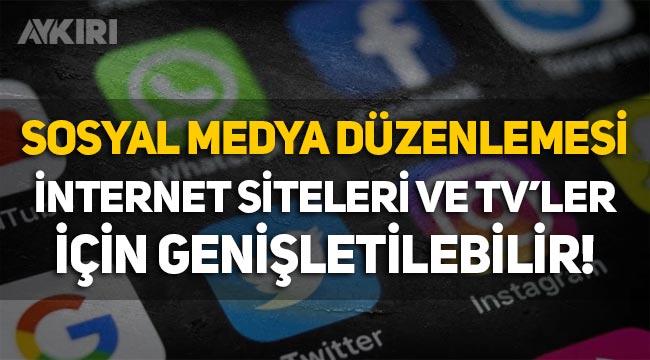 Abdulkadir Selvi: Sosyal medya düzenlemesinin internet siteleri ve TV'ler için genişletilmesi gündemde!