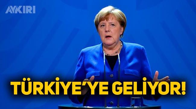 Almanya Başbakanı Angela Merkel, Türkiye'ye geliyor