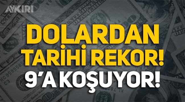 Dolardan tarihi rekor! Dolar kaç lira? Dolar ne kadar oldu?