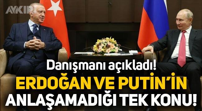 Erdoğan ve Putin'in Soçi'de anlaşamadığı tek konu!