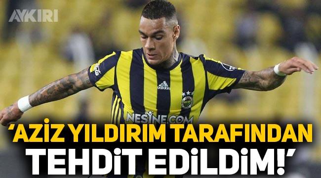 Eski Fenerbahçeli Gregory van der Wiel: Aziz Yıldırım tarafından tehdit edildim!