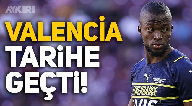 Fenerbahçeli Enner Valencia tarihe geçti