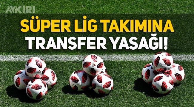 FIFA'dan Süper Lig takımı Hatayspor'a transfer yasağı