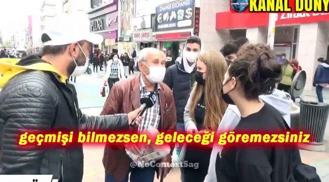 """Gençlerle yaşlı vatandaş arasında """"En iyi İmamoğlu"""" tartışması"""