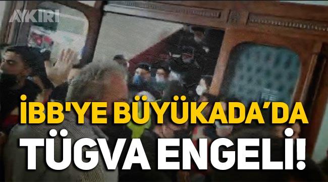 İBB'ye Büyükada'da TÜGVA engeli!