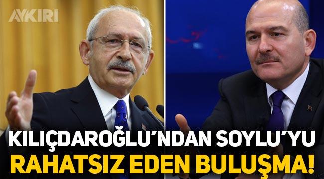 'Kemal Kılıçdaroğlu'nun o buluşması Süleyman Soylu'yu rahatsız etti'