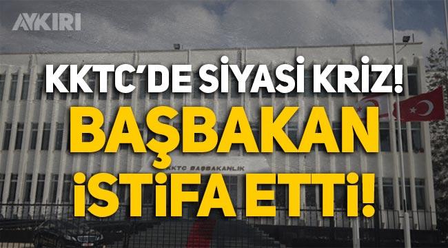 KKTC Başbakanı Ersan Saner istifa etti