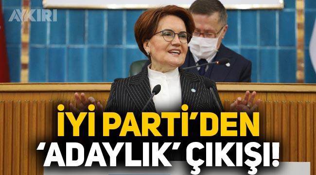 """Meral Akşener'in """"Başbakanlık"""" açıklamasına İYİ Parti'den dikkat çeken çıkış!"""