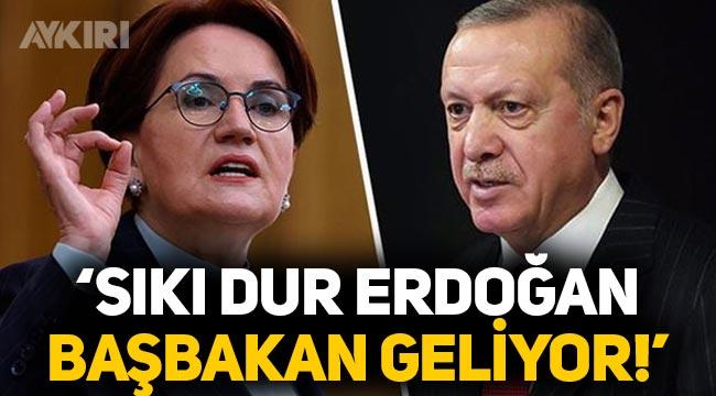 """Meral Akşener: """"Sıkı dur Erdoğan, Başbakan geliyor!"""""""