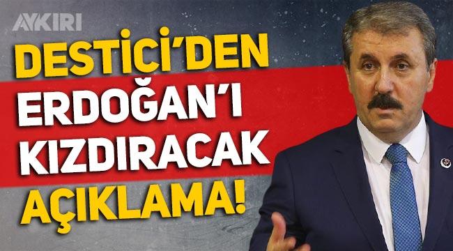 Mustafa Destici: Türkiye'de hayat pahalılığı var, Çiftçiden ÖTV alınmamalı