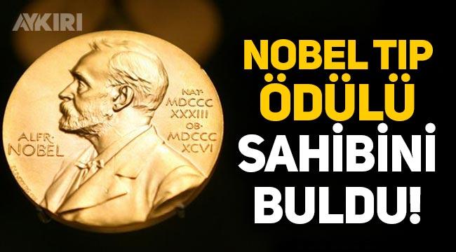 Nobel Tıp Ödülü'nü kim aldı? Nobel Ödülü'nü alan isim belli oldu!