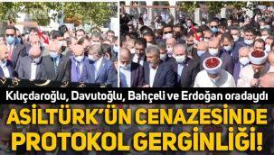 Oğuzhan Asiltürk'ün cenaze töreninde protokol gerginliği
