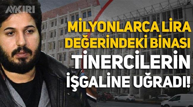 Reza Zarrab'ın Beyoğlu'ndaki milyonluk binası tinercilerin işgaline uğradı