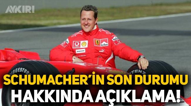 Schumacher'in son durumu hakkında açıklama