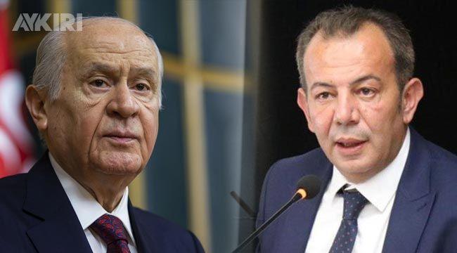 Tanju Özcan'dan Devlet Bahçeli'ye mektup!