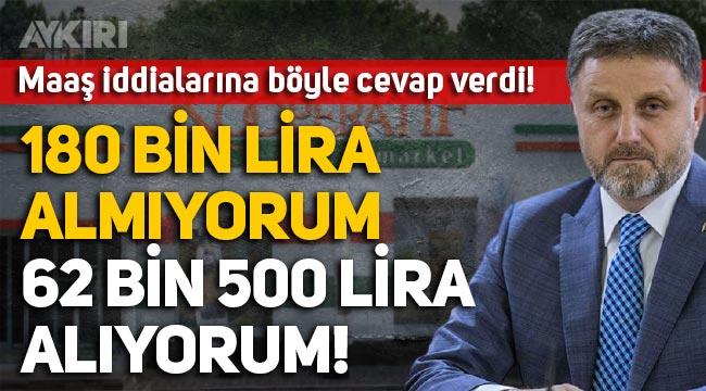"""Tarım Kredi Genel Müdürü Fahrettin Poyraz: """"180 bin lira maaş almıyorum, 62 bin 500 lira alıyorum!"""""""