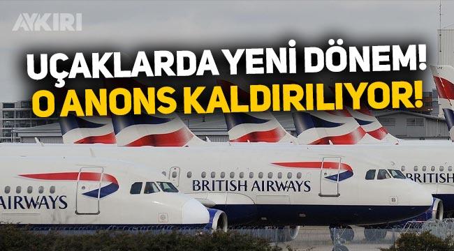 Uçaklarda yeni dönem: 'Bayanlar ve baylar' anonsu kullanılmayacak