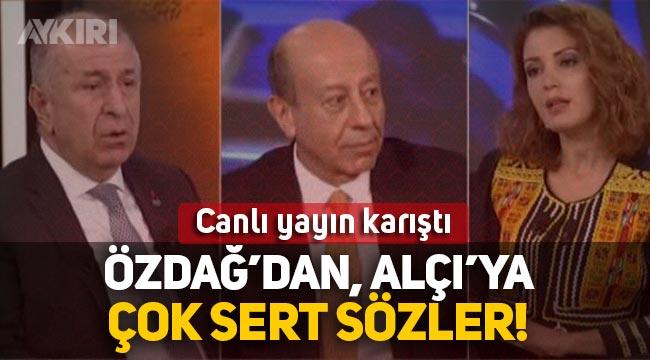 """Ümit Özdağ ve Nagehan Alçı arasında gerginlik: """"Toplumsal gerilimin mimarısınız"""""""