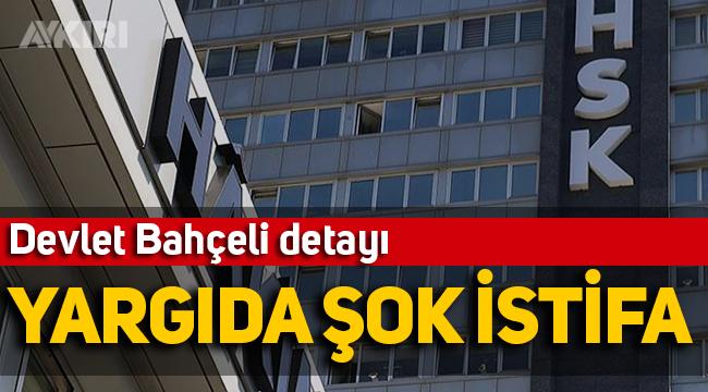 Yargıda şok istifa! HSK üyesi Hamit Kocabey istifa etti