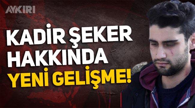 Yargıtay Cumhuriyet Başsavcılığı'ndan Kadir Şeker'in cezası için bozma talebi