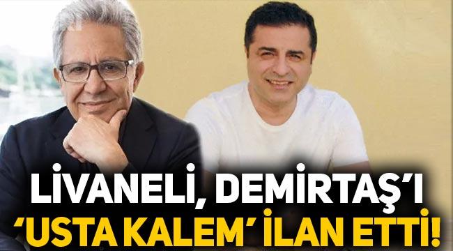 "Zülfü Livaneli, Selahattin Demirtaş'ı ""Usta kalem"" ilan etti"