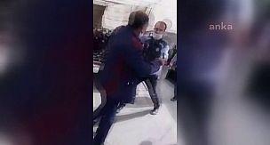 Pazarcılar zabıtayı dövdü, ortalık karıştı