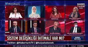 HaberTürk'teki Hilal Kaplan kavgası geceye damga vurdu, Hilal Kaplan yayından alındı, İsmail Saymaz'dan sert sözler